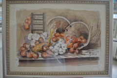 Dipinto di Fiorini dello scalogno piacentino